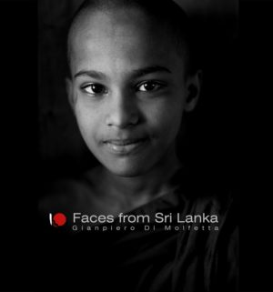 "Libro ""Faces from Sri Lanka"""